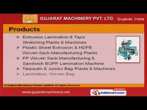 Extrusion Plants And Machineries by Gujarat Machinery Private Limited, Ahmedabad