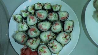 Роллы | Как приготовить роллы дома (рецепт для начинающих)