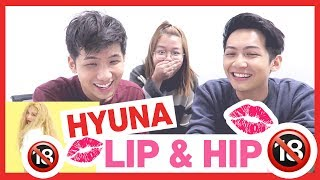 HyunA(현아) - 'Lip & Hip' MV REACTION!!