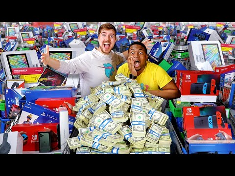 Spending $1,000,000 In 24 Hours - MrBeast