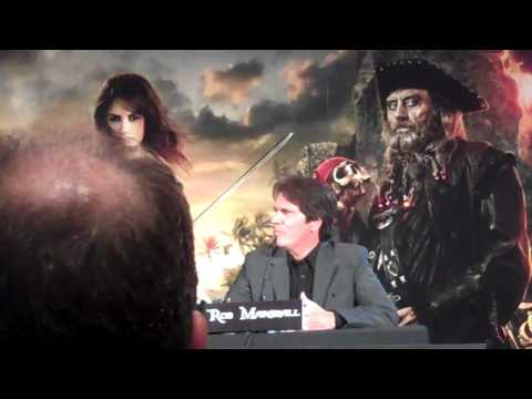 Director Rob Marshall at Pirates of the Caribbean: On Stranger Tides press conference