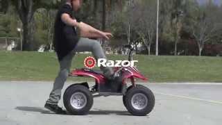 ЭлектроКвадроцикл Razor Dirt Quad. Для детей и подростков 10, 12, 14, 16 лет!(Очень крутой электроквадроцикл от Razor. Обновленная модель этого года! Для детей и подростков. Официальный..., 2015-07-17T08:08:38.000Z)
