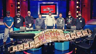 2020 WSOP Main Event Final Table