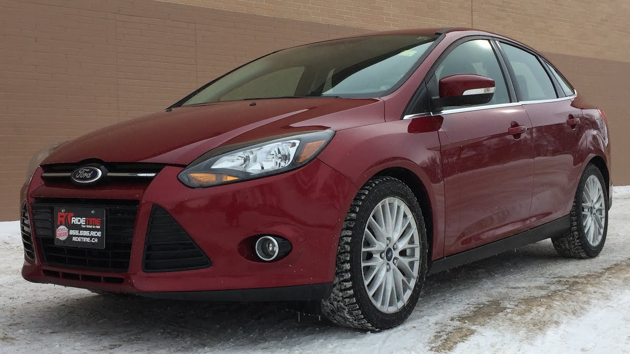 2013 Ford Focus Titanium Navigation Alloy Wheels