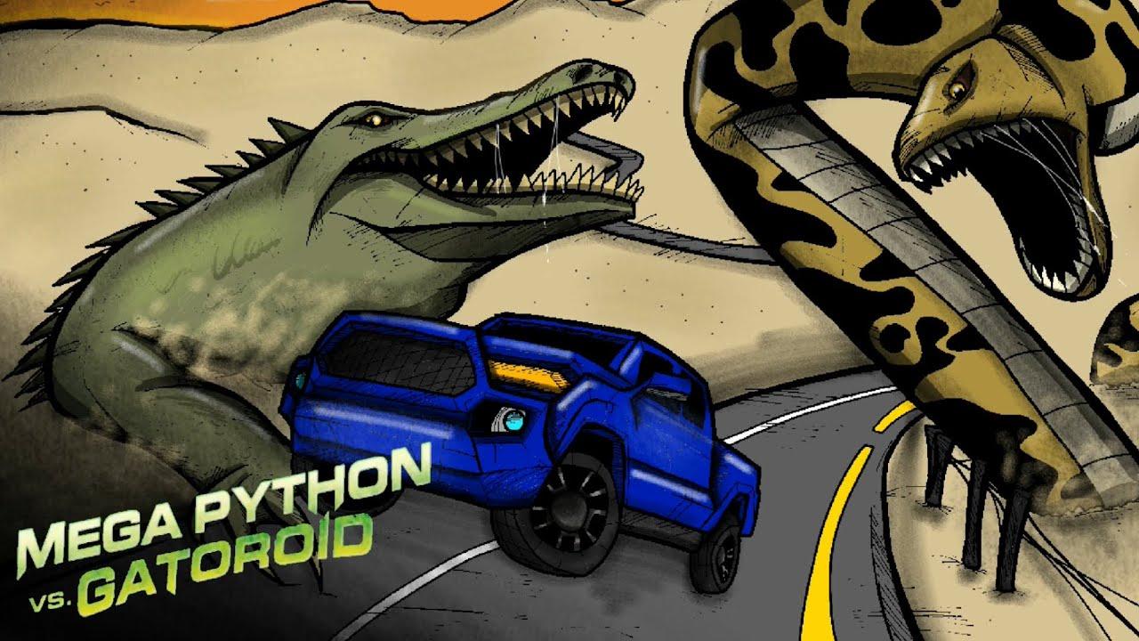 Download Mega Python vs. Gatoroid [DRAWING]#80
