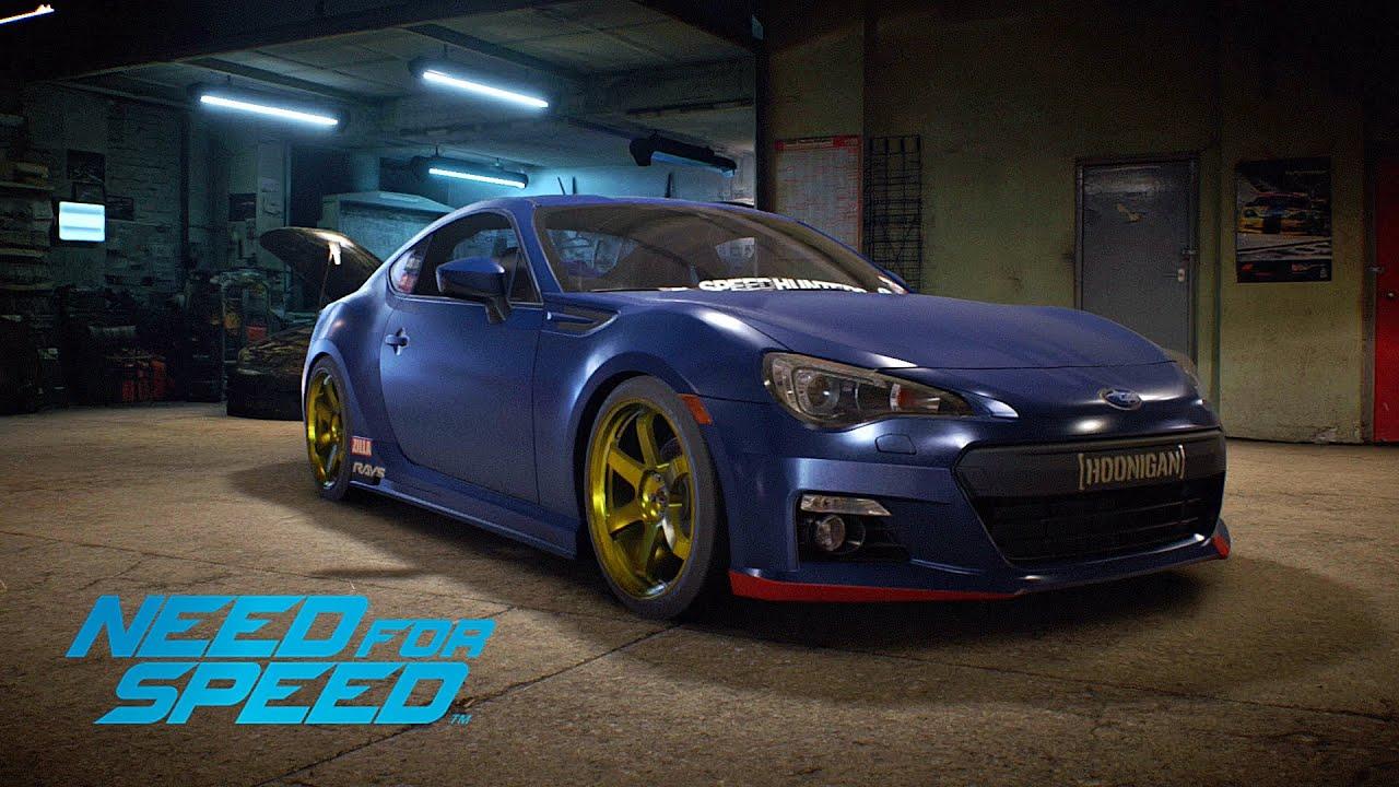 need for speed (2015) | subaru brz premium 2014 - gameplay nfs