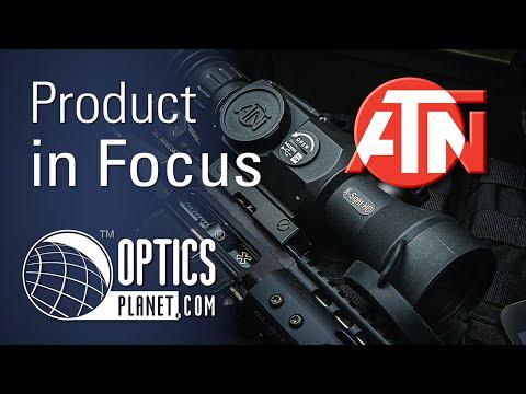 ATN X-Sight II Day/Night Smart HD Optics Rifle Scope - Product In Focus - OpticsPlanet.com