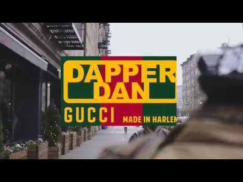 Gucci x Dapper Dan made in Harlem A:W '18 '19 BTS for Numero Homme magazine Day 1 Part 2