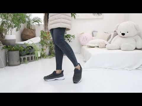 [슈벨]캐주얼 발편한 여성 패딩슬립온 W1007