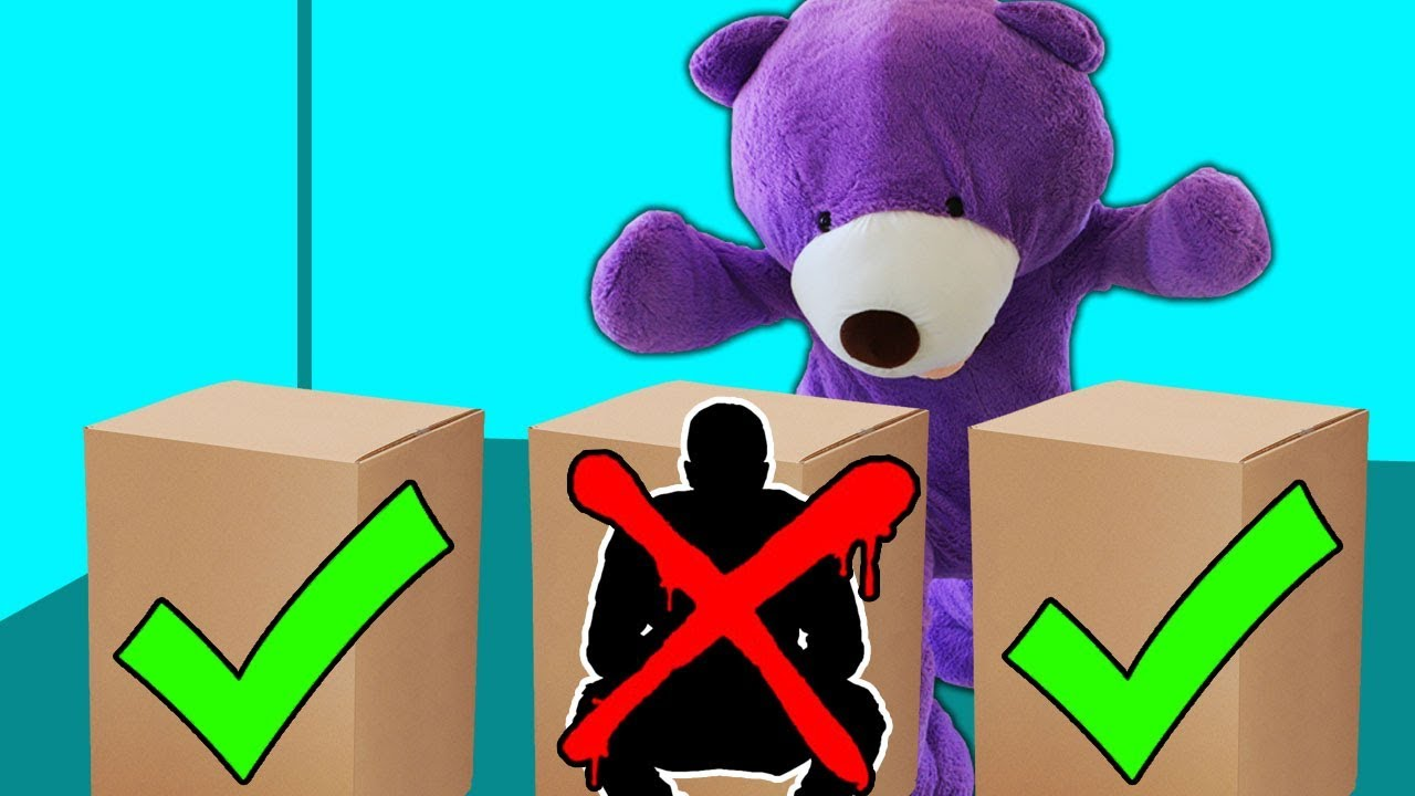 2d6d72a42b3 DONT get Tackled by the GIANT Teddy Bear!! - YouTube