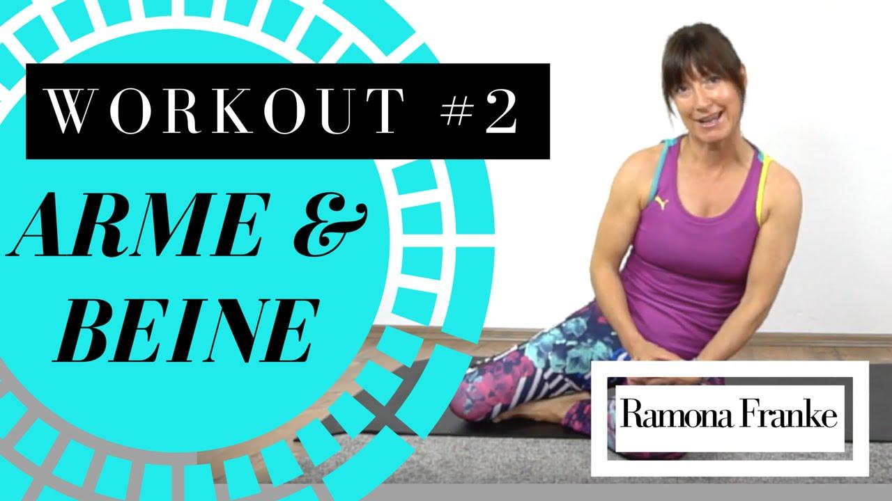Workout #2 - Arme und Beine | Ramona Franke