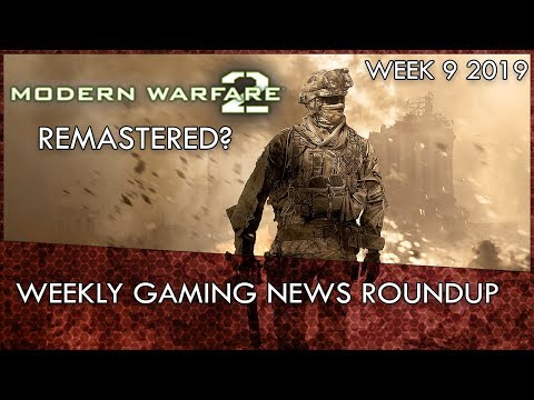 Modern Warfare 2 Remastered, RIP PSVita & Overkill's The Walking Dead   Weekly Gaming News Round Up thumbnail