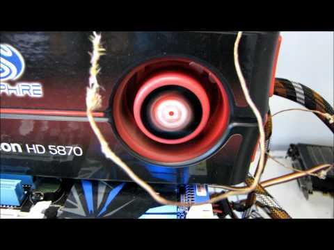 MSI AMD Radeon HD 6870 Video Card Noise & Temperature Testing Linus Tech Tips
