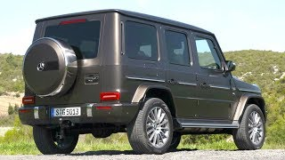 2019 Brown Mercedes G 500 - Legend Reinvented for Today