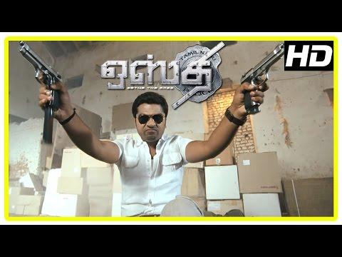 Osthi Tamil Movie   Action Scenes   Simbu   Sonu Sood   Jithan Ramesh   Santhanam