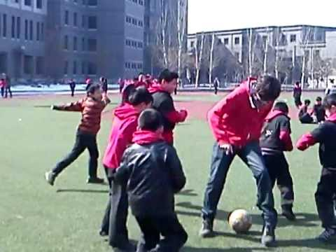 Northeast Yucai School - Shenyang Danny  Football Training.mov