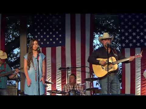 Daryle Singletary & Charli Roberston / There's A Cold Spell Movin' In