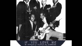 Altairs - If You Love Me / Groovy Time - Amy 803 - 1959