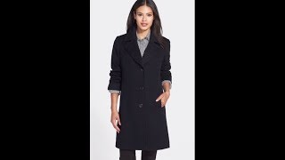 Cheap Womens Clothes UK - Womens Wool Long Winter Full Length Coat Review