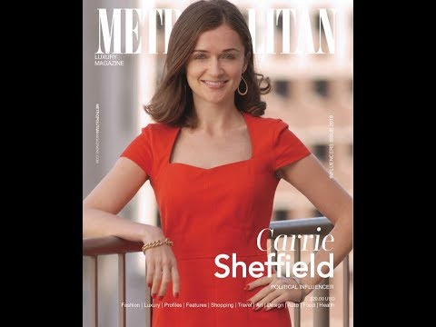 Bold Founder Carrie Sheffield on the Cover of Metropolitan Magazine