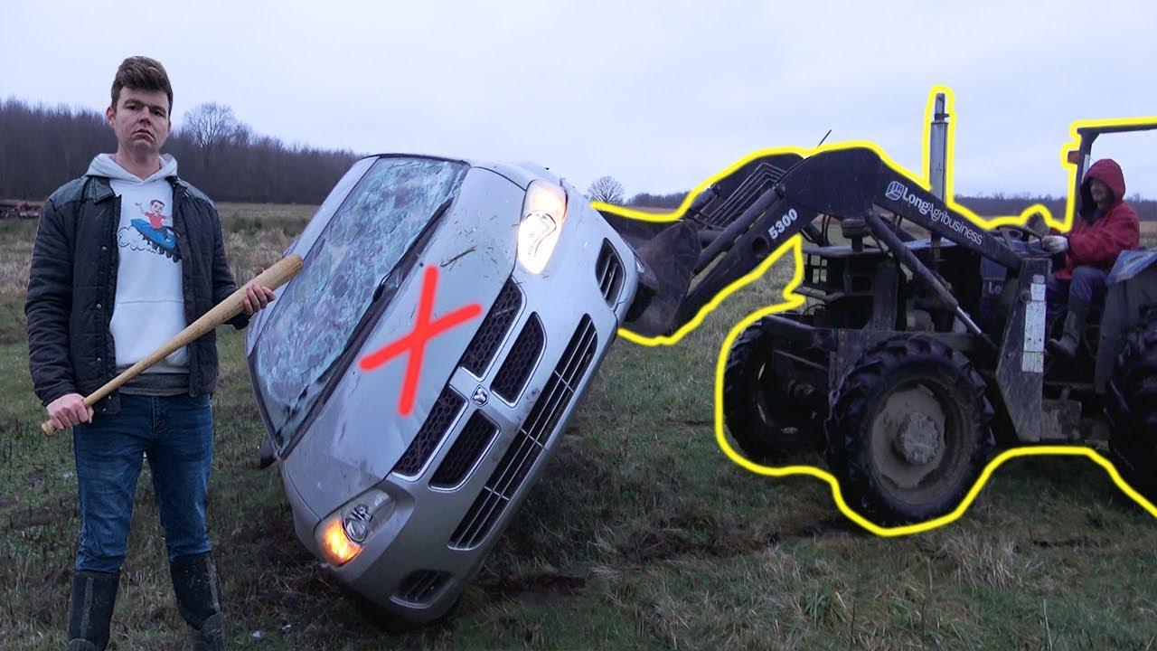 Destroying My Car!