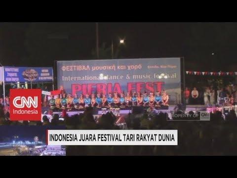 Indonesia Juara Festival Tari Rakyat Dunia