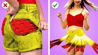 Fashion Hacks: 11 Easy DIY Clothing Ideas!