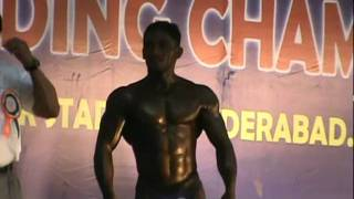 Mr India Bodybuilding competition 2012