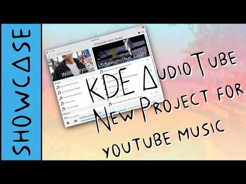 KDE AudioTube: Project for Youtube Music