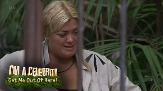 gemma collins has a dunny dilemma   i m a celebrity get me out of here