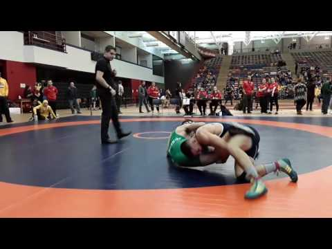 2016 Dino Invitational: 72 kg Micah Heide vs. Kyle Horvath