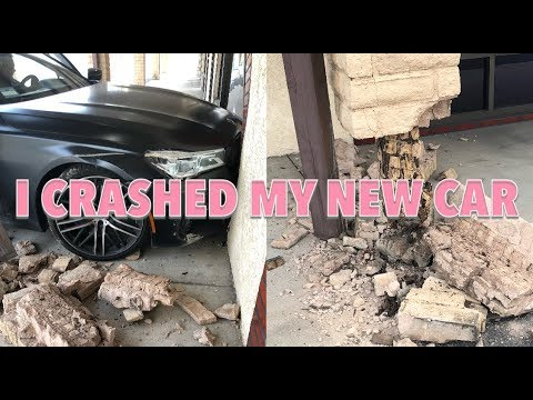 I CRASHED MY *NEW* BMW 750i *not click bait* | Jordyn Jones