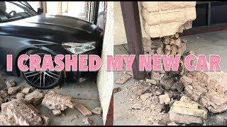 I CRASHED MY *NEW* BMW 750i *not click bait* | Jordyn Jones