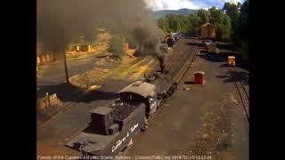 7/15/2018 Eight car train 216 departs Chama, NM
