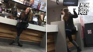 Violent KFC customer throws extra-crispy tantrum | New York Post