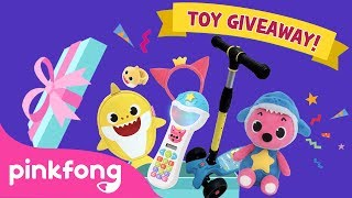 ★Join #BabySharkChallenge and WIN awesome #Toys from Pinkfong!★