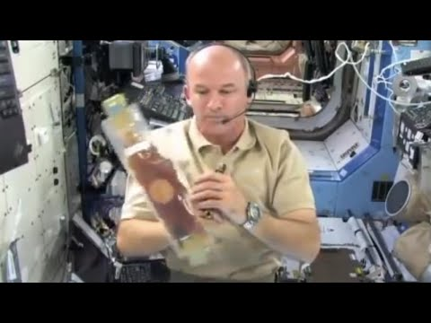 Amazing experiment! What happens to bubbles in space?