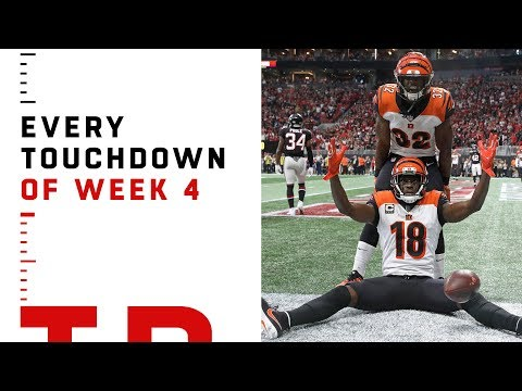 Every Touchdown From Week 4 | NFL 2018 Highlights