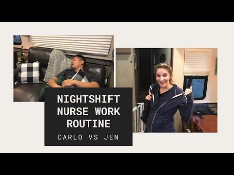Nightshift Nurse Work Routine - Carlo VS Jen