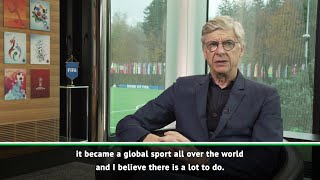 Arsene Wenger accepts FIFA appointment, wants to give back to football