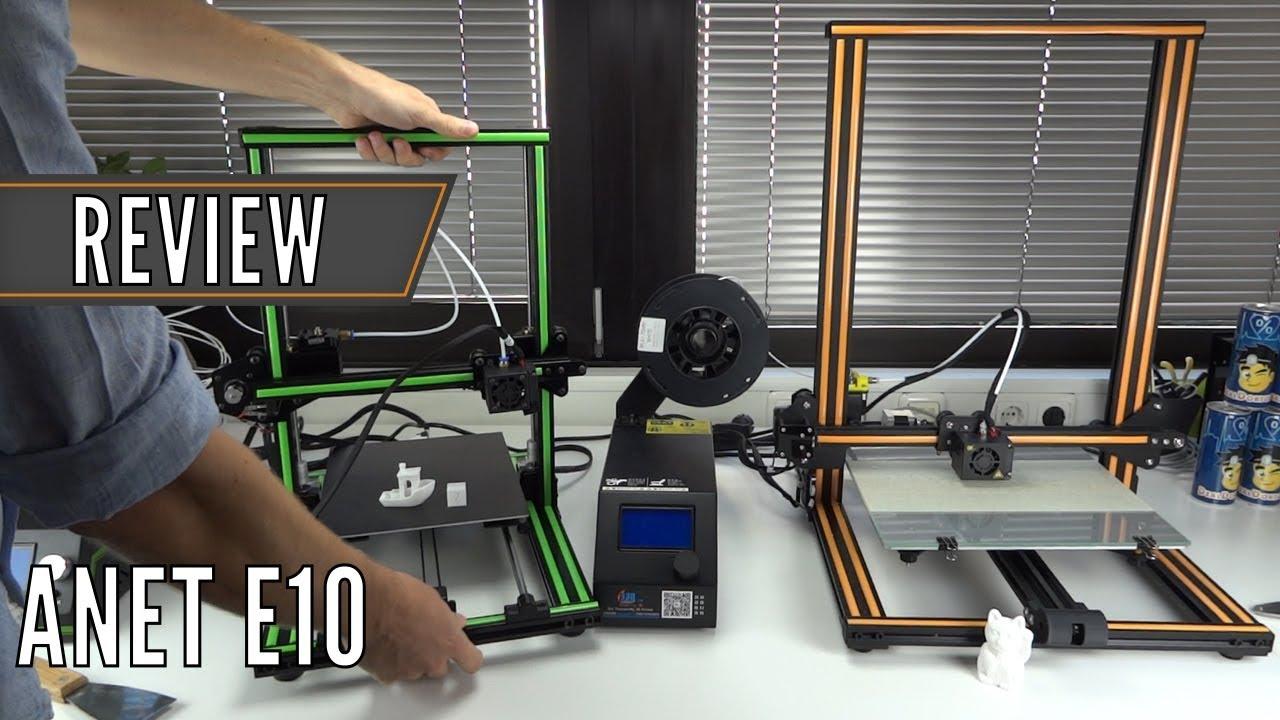 anet e10 guter 3d drucker klon des creality cr 10 test deutsch china gadgets youtube. Black Bedroom Furniture Sets. Home Design Ideas