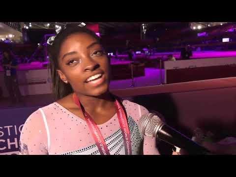 Simone Biles - Interview - 2018 World Championships - Women's All-Around