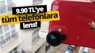 9.9 TL'ye tüm telefonlara geniş açı kamera takmak!