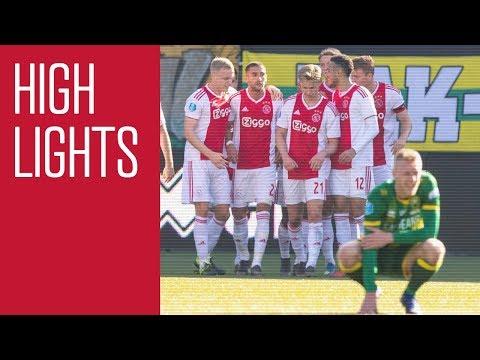 Highlights ADO Den Haag - Ajax