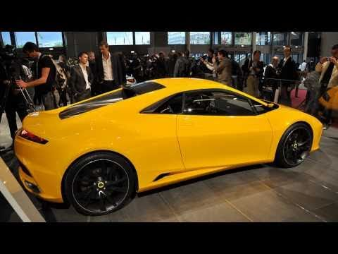 2010 Lotus Elan Concept (2010 Paris Auto Show) - YouTube