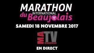 Marathon du Beaujolais 2017 - Teaser Live Ma TV en Beaujolais