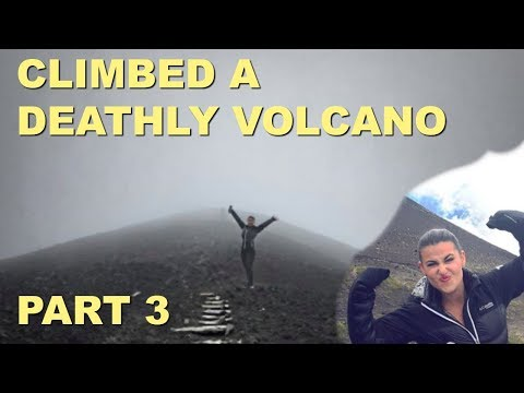 Climbing a deathly VOLCANO in Chile, Sea Sick in Chacabuco - PART 3