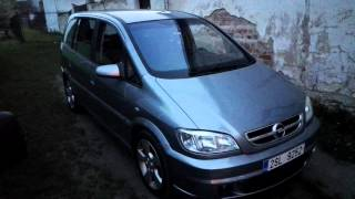 Opel zafira A 2.2dti OPC zavírání oken pomocí DO