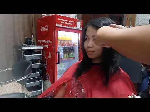 Cara potong rambut shaggy harajuku medium hair #1