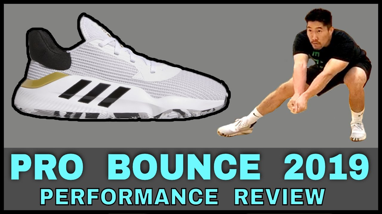 Adidas Pro Bounce 2019 Low Basketball Shoe Review